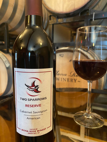 Mona Rose Winery Sparrow